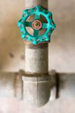 Water valve Royalty Free Stock Images