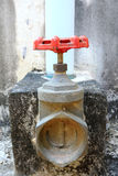 Water valve Stock Photo