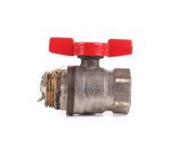 Water valve close up. Stock Photography