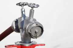 Water valve  from a hydrant Royalty Free Stock Photography
