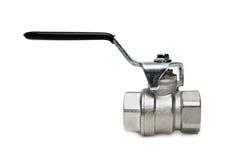 Water valve isolated Stock Photo