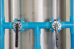 Water valves. Stock Images