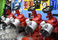 Water Valves Stock Photography