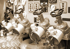Water Valves Royalty Free Stock Photography