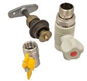 Water valves Royalty Free Stock Photos