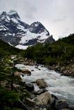 Water van de bergen Stock Afbeeldingen