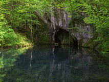 Water van het hol Royalty-vrije Stock Afbeeldingen