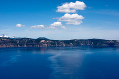 Water van het Parkoregon van het kratermeer het Nationale Stock Afbeeldingen