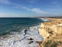 Water van strand Stock Afbeelding