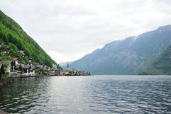 Water view of Hallstatt, Austria Stock Photos
