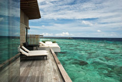 Water villa Royalty Free Stock Image
