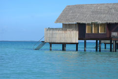 Water villa in Maldives Royalty Free Stock Photography