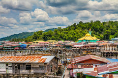 Water Village-Bandar Seri Begawan, Brunei Royalty Free Stock Image