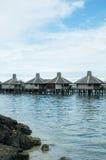 Water village, borneo Stock Photo