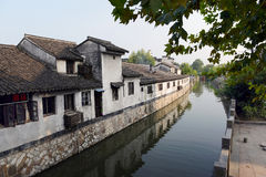 Water Village-Nanxun ancient town royalty free stock photo