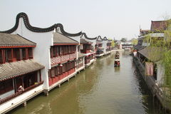 Water Village-Shaojialou ancient town Stock Photography