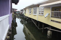 Water Village Royalty Free Stock Images