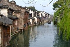 Water Village-Wuzhen ancient town Stock Photos