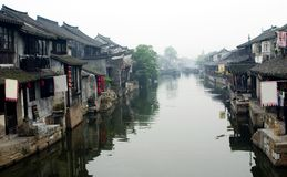Water Village -Xitang Stock Photo