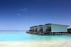 Water villas Royalty Free Stock Photo