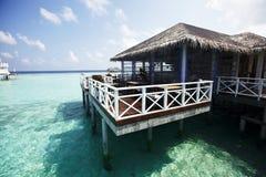 Water villas Royalty Free Stock Image