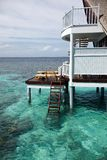 Water villas Stock Photos