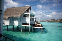 Water villas Royalty Free Stock Image