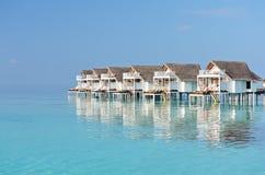 Water villas Stock Photos
