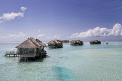 Water Villas at Gili Lankanfushi Royalty Free Stock Photo