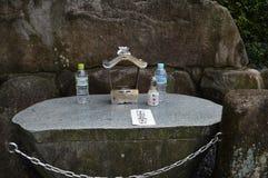 Water voor de a-Bom Victems bij het Monument Japan 2016 van Hiroshima royalty-vrije stock foto