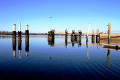 Water voorjachthaven stock fotografie