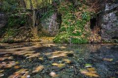 GÃrtersteiner waterfall Stock Photography