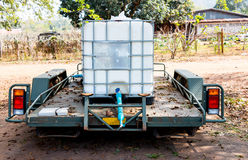 Water wagon of farm Royalty Free Stock Photography