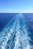 Water wake Stock Image