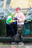 Water war Royalty Free Stock Images