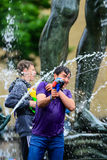 Water war Stock Images