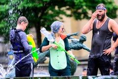 Water war Royalty Free Stock Image