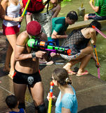 Water war in Israel Royalty Free Stock Images