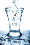 Water waste Royalty Free Stock Image