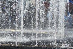 Water from water fountain Stock Photography