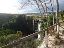 Salto de Agua Parque Nacional Gran sabana Bolívar Venezuela stock photos