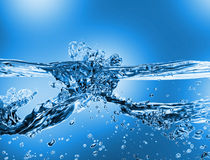 Water wave Royalty Free Stock Photos