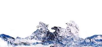 Water wave. Isolated water wave stock photos