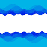Water wave design Stock Photo