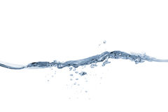 Water wave and splash.  Royalty Free Stock Images