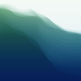 Water Wave. Vector Illustration For Your Design Royalty Free Stock Photos
