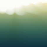 Water Wave. Vector Illustration For Your Design Stock Photography