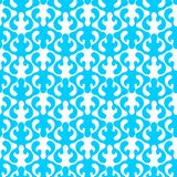 Water waves abstract effect seamless pattern. Abstract blue water waves flames effect pattern background. Seamless texture pattern Stock Image