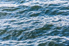 Water and waves as a texture stock photography