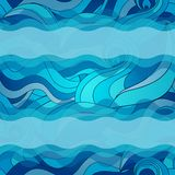 Water waves background Stock Images